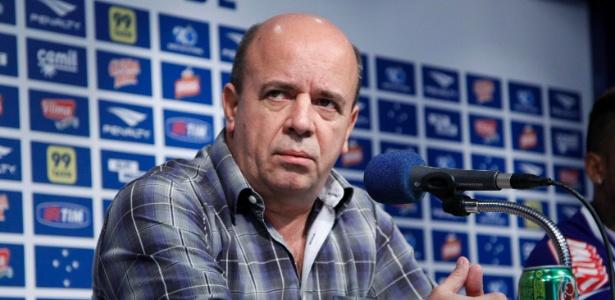 Valdir Barbosa deixa o cargo de gerente de futebol do Cruzeiro e assume diretoria do Coritiba