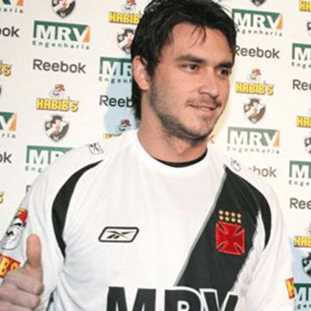 Pinilla jogou no Vasco em 2008 - Divulgação / Vasco