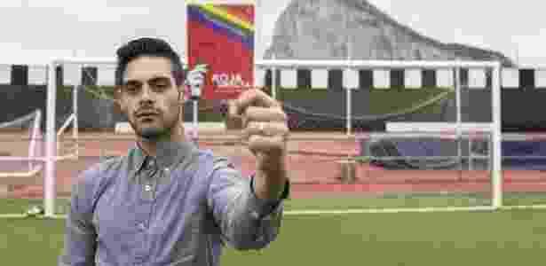 Jesús Tomillero assumiu ser homossexual no início deste ano - Reprodução/Facebook