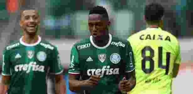 Mina foi contratado pelo Palmeiras após a Libertadores de 2016 - Cesar Greco/Ag Palmeiras