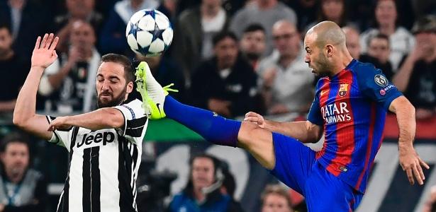 Mascherano deverá estar entre os titulares para a partida contra a Juve
