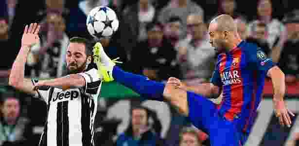 Mascherano deverá estar entre os titulares para a partida contra a Juve - Miguel Medina/AFP