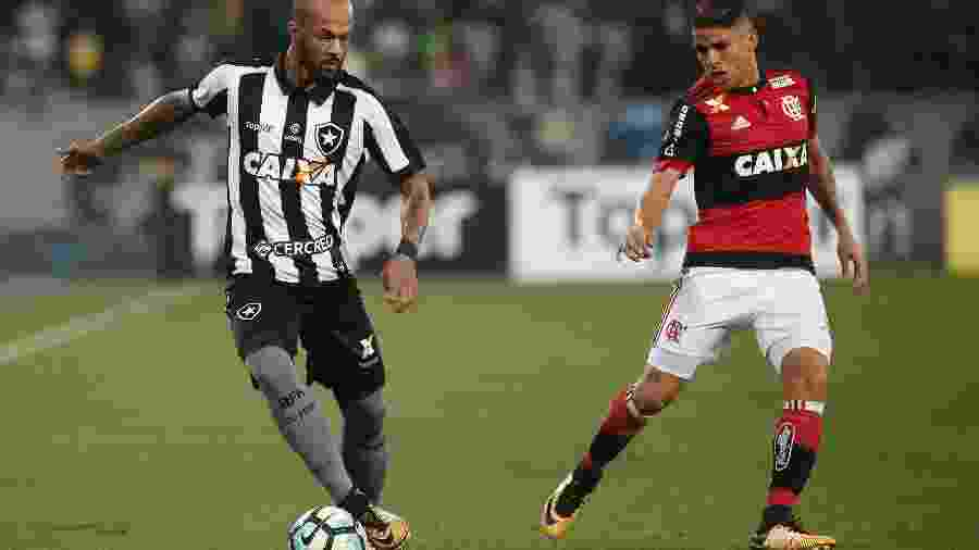 Botafogo não perde para Fla em casa no Brasileiro desde 2010, enquanto Flamengo tenta manter sequência no Rio - Luciano Belford/AGIF