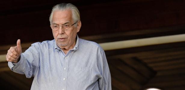Eurico Miranda sentiu dores nas regiões lombar e pulmonar, onde já teve câncer - Thiago Ribeiro/AGIF