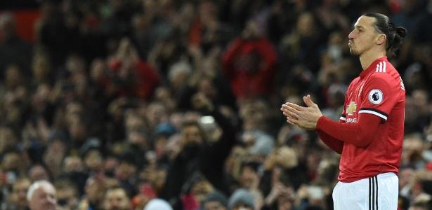 Ibrahimovic entrou no segundo tempo contra o Newcastle