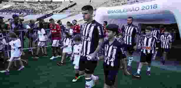 Tomás Andrade, meia-atacante do Atlético-MG, se desentendeu com técnico por substituição - Bruno Cantini/Divulgação/Atlético-MG