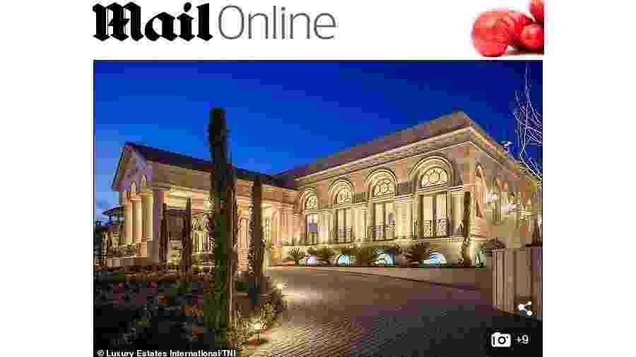 Floyd Mayweather adquiriu mansão luxuosa em Las Vegas - Reprodução/Daily Mail