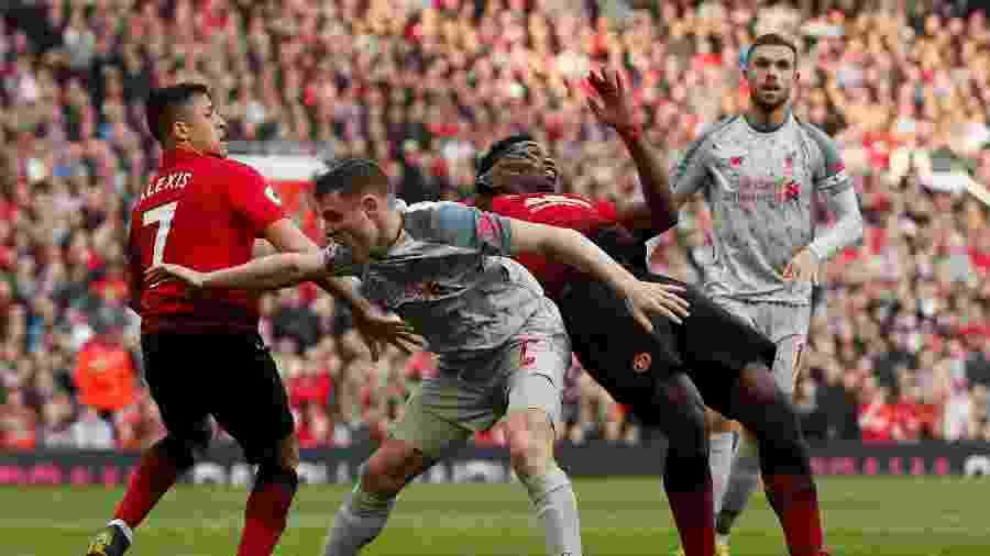 9aedb673d9 Liverpool segura empate contra o United e recupera liderança no Inglês