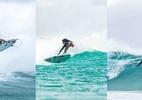 Gabriel Medina curte família após eliminação e surfa com irmã e padrasto - reprodução/Instagram