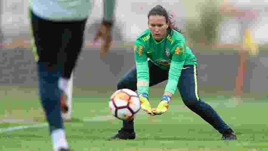 Aline Reis, goleira da seleção brasileira feminina - Lucas Figueiredo/CBF