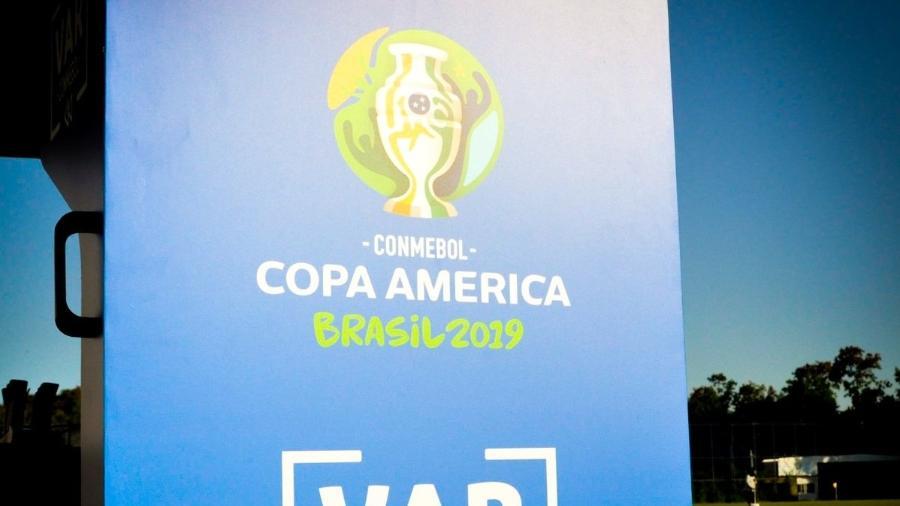 VAR foi utilizado em 2019 pela primeira vez na Copa América - André Soares/Madureira EC