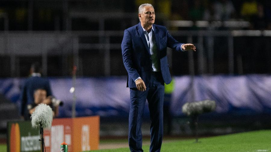Tite escondeu qual será a escalação da seleção brasileira no jogo desta terça - Pedro Martins / MoWA Press