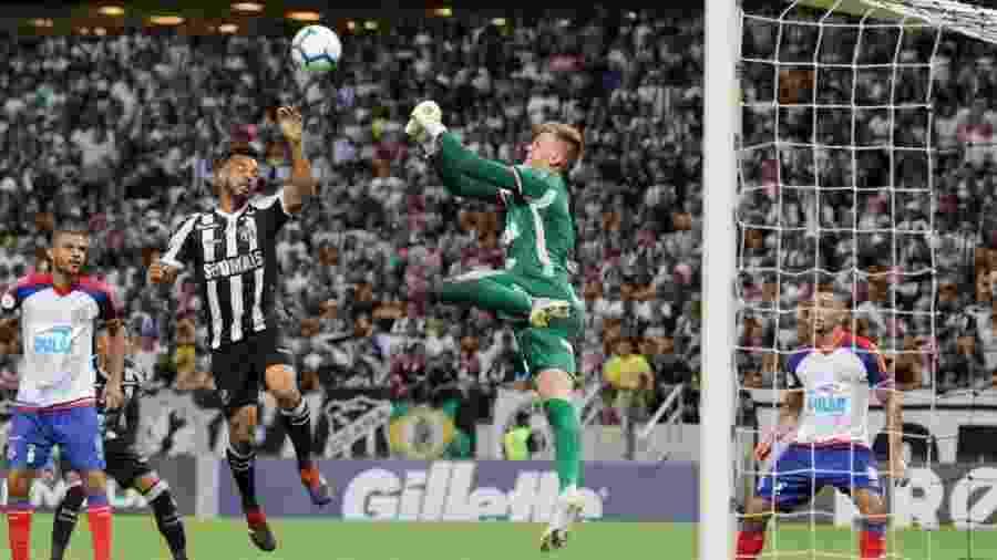 Bahia e Ceará empataram sem gols no primeiro turno do Brasileirão 2019 - Pedro Chaves/AGIF