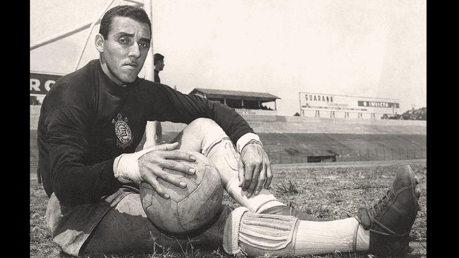 O goleiro Cabeção, que defendeu o Corinthians por 17 anos - Reprodução/Arquivo Corinthians
