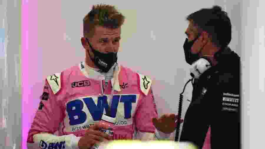 Nico Hulkenberg foi chamado de última hora para o treino do GP de Eifel - Peter Fox/Getty Images