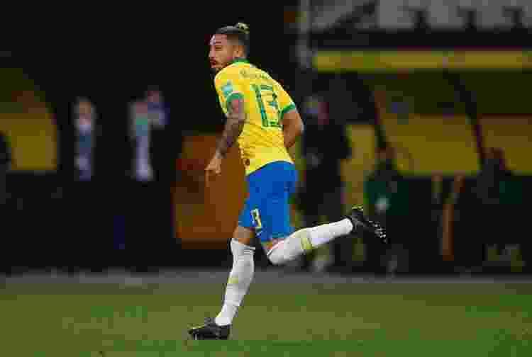 Alex Telles, lateral-esquerdo da seleção brasileira - Miguel Schincariol - Miguel Schincariol