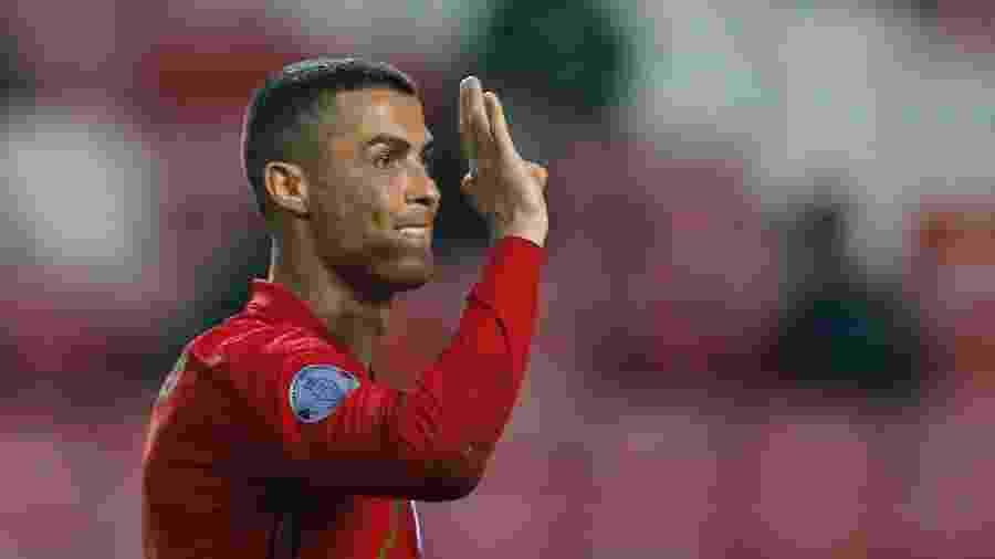 Cristiano Ronaldo defendeu a seleção portuguesa em 167 oportunidades - RAFAEL MARCHANTE/REUTERS