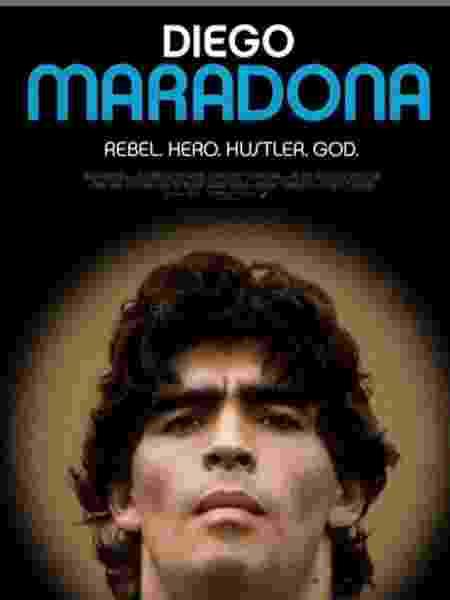 """Cartaz do filme """"Diego Maradona"""" - Instagram/Asif Kaádia"""