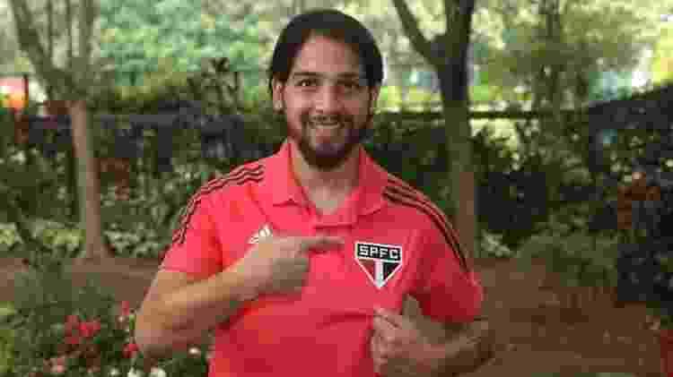 Martín Benítez, meio-campista do São Paulo - Divulgação/São Paulo FC - Divulgação/São Paulo FC