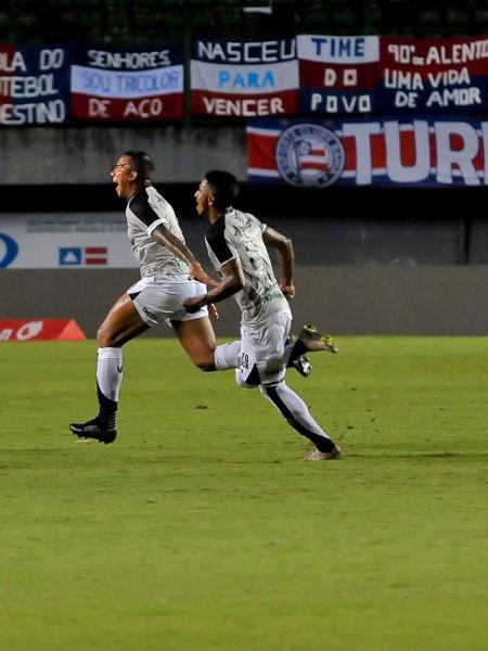 Jael comemora gol pelo Ceará contra o Bahia pela Copa do Nordeste - Jhony Pinho/AGIF