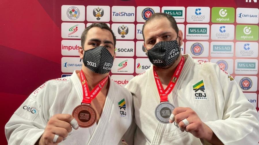 David Moura (esq) e Rafael Silva (dir) - Divulgação