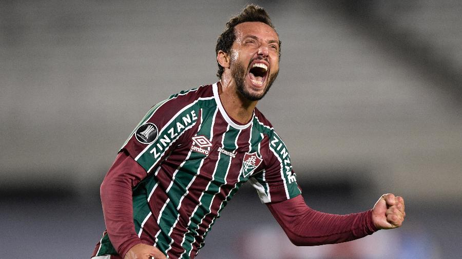 Nenê fez seu primeiro gol no Brasileirão 2021 - Juan Mabromata-Pool/Getty Images