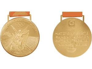 Medalha da Olimpíada de Atenas 2004 - Comitê Olímpico Internacional - Comitê Olímpico Internacional