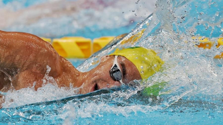 Gabriel Bandeira é prata nos 200m livre nas Paralimpíadas de Tóquio - Miriam Jeske/CPB