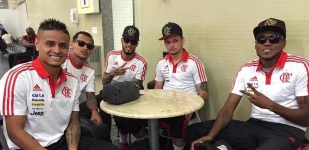"""Grupo conhecido como """"Bonde da Stella"""" se reergueu e ajuda o Flamengo no Brasileiro-2016 - Divulgação/Flamengo"""