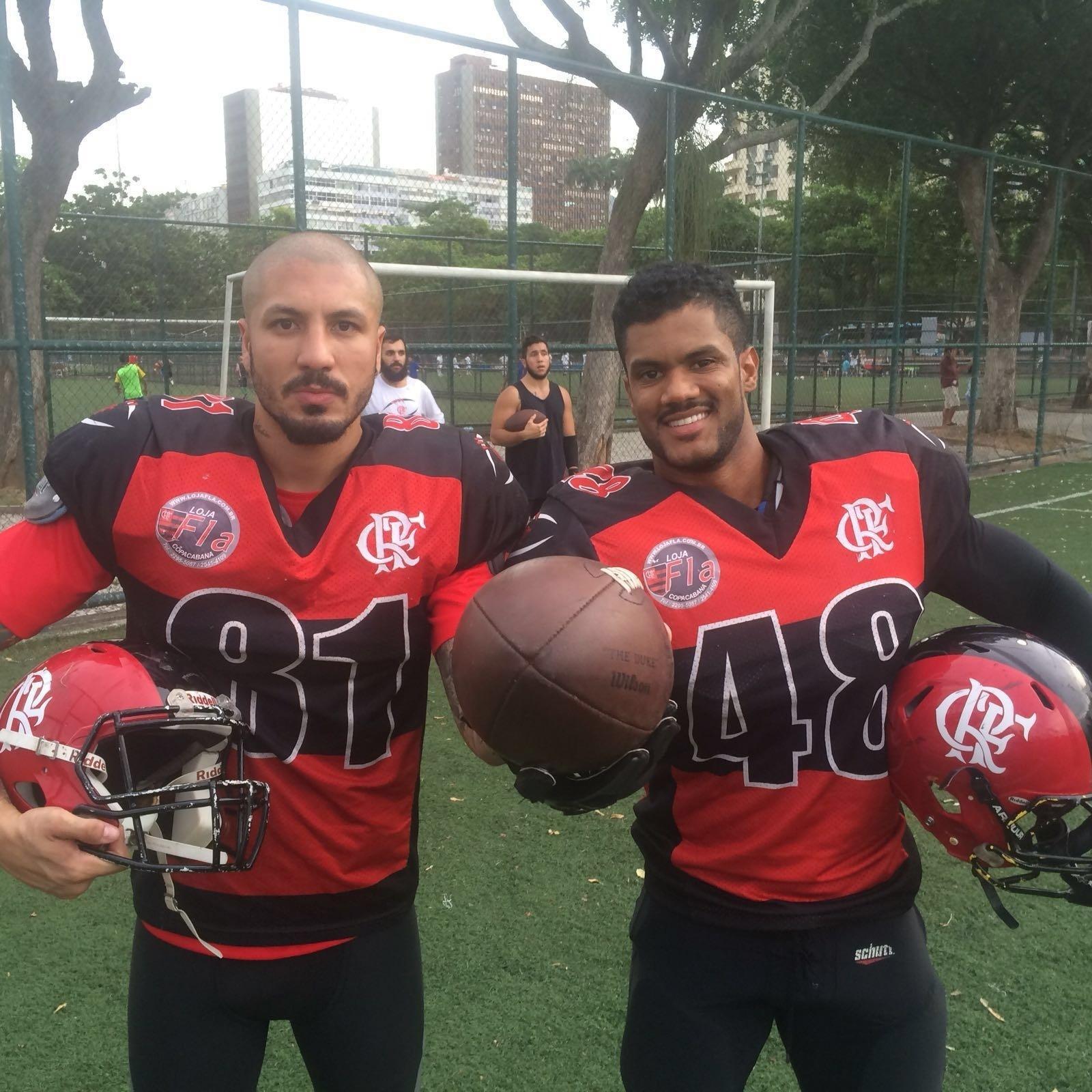 9a6ac42e2b Ex-BBB realiza sonho de torcedor e reforça Flamengo no futebol americano -  08 03 2016 - UOL Esporte