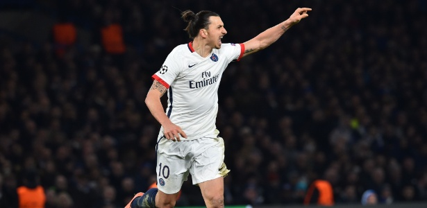 Ibrahimovic tem saída quase certa do PSG - Ben Stansall/AFP