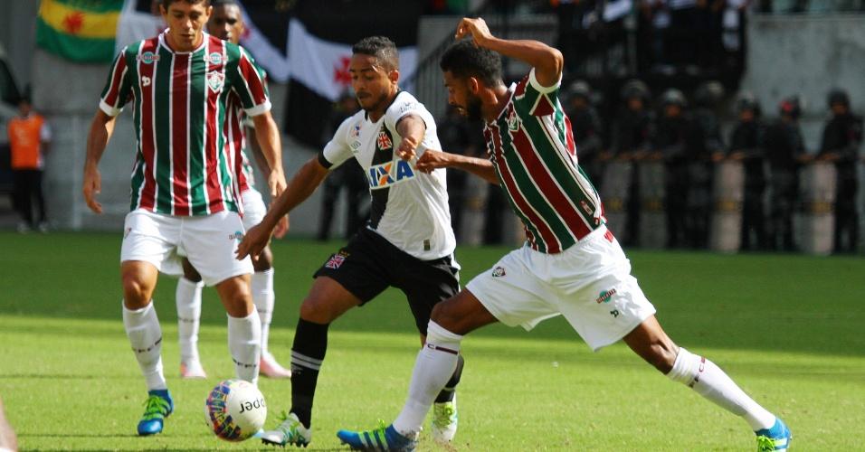 Vasco e Fluminense disputaram clássico em Manaus