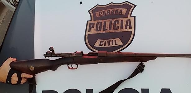 Demafe apreendeu arma de grosso calibre na operação denominada Estratagema