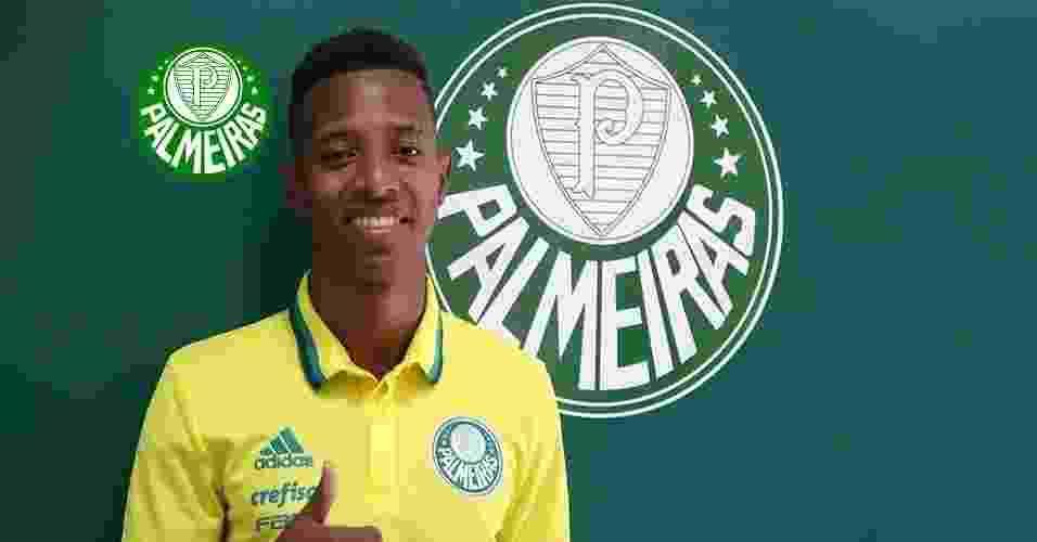Tchê Tchê (meia/lateral) - do Audax para o Palmeiras - Divulgação/Palmeiras