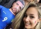 Itália tem amuleto na Euro: namorada de Pellé e seu boneco inflável - Reprodução/Instagram
