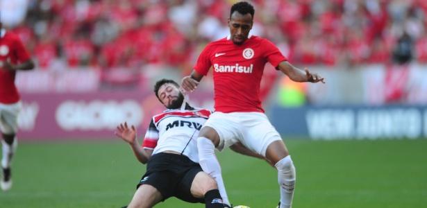 Expulsão de E. Henrique (foto) confirmou alto número de cartões do Inter no Beira-Rio