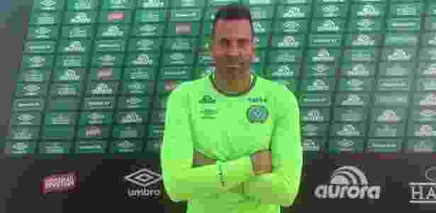 Arthur Moraes foi contratado nesta temporada e virou capitão da Chapecoense - Daniel Fasolin/UOL