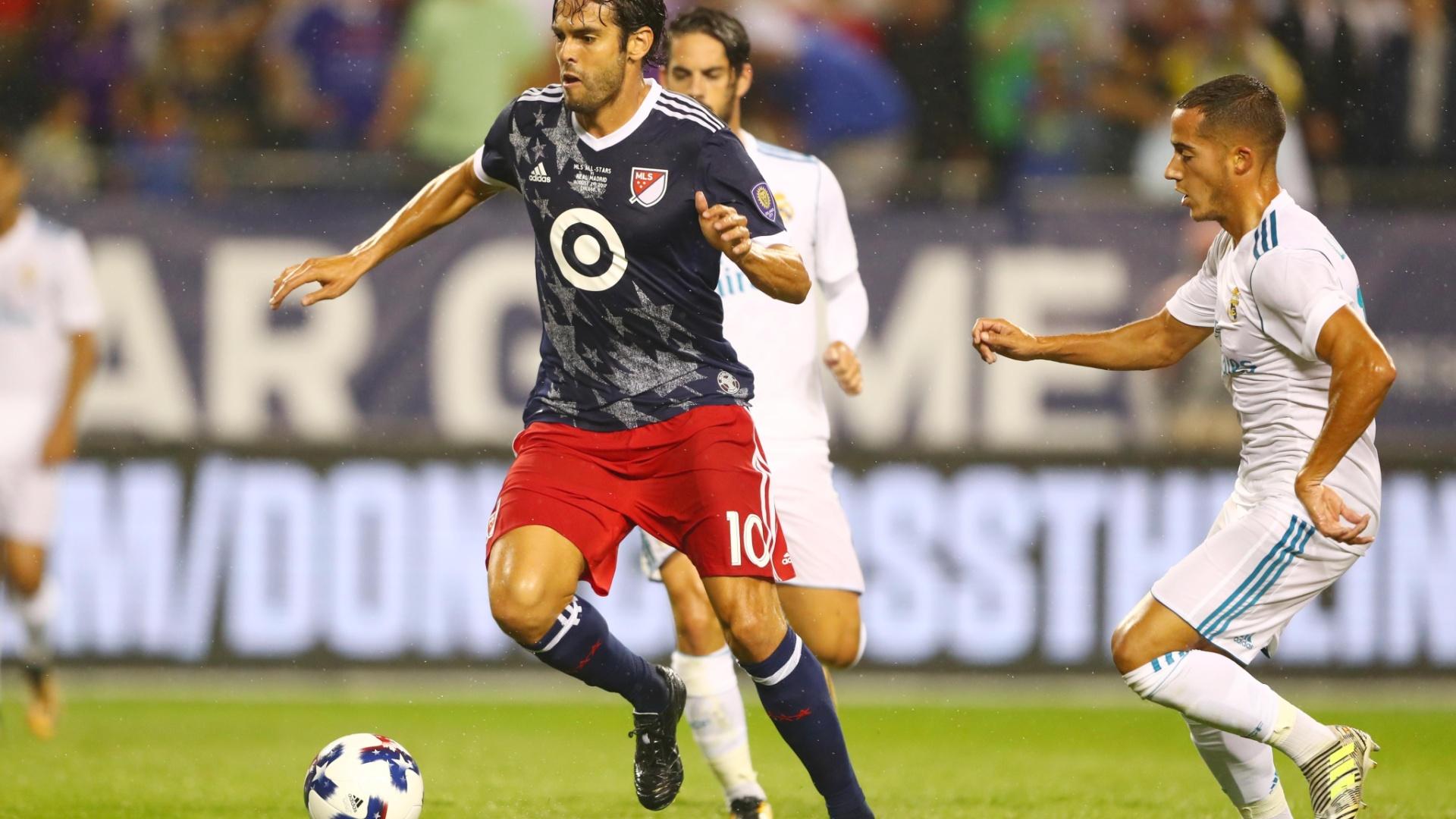 Kaká em ação pela MLS All Stars contra o Real Madrid