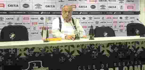 Presidente Eurico Miranda foi desafiado por advogado que é seu desafeto  - Bruno Braz/UOL