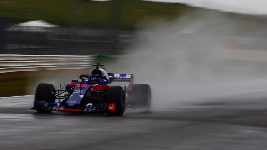 Carro da Toro Rosso para a temporada de 2018 - Reprodução/Twitter