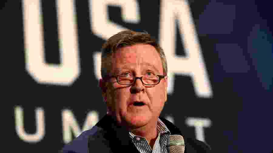 Scott Blackmun renunciou ao cargo de chefe do Comitê Olímpico dos EUA - Maxx Wolfson/Getty Images