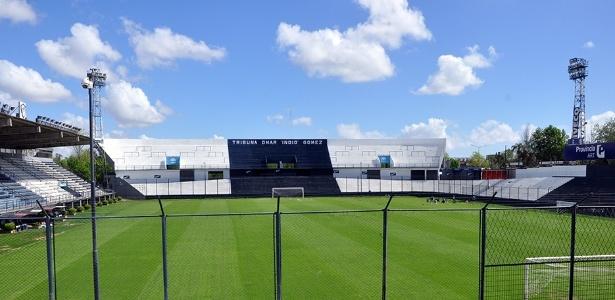 Estudiantes x Grêmio será disputado no estádio do Quilmes, inaugurado em 1995 - Divulgação/Quilmes