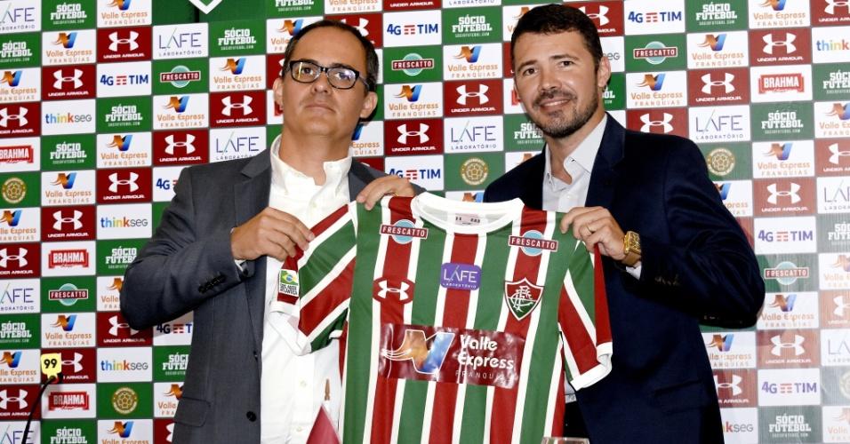 Pedro Abad, presidente do Fluminense, apresenta nova parceira