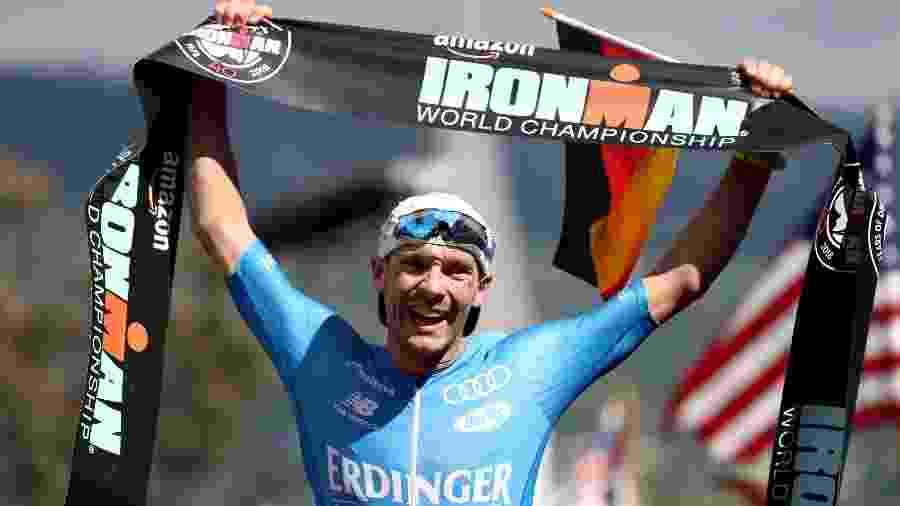 Lange venceu as últimas duas edições do Mundial de Ironman, no Havaí - Al Bello/Getty Images for IRONMAN