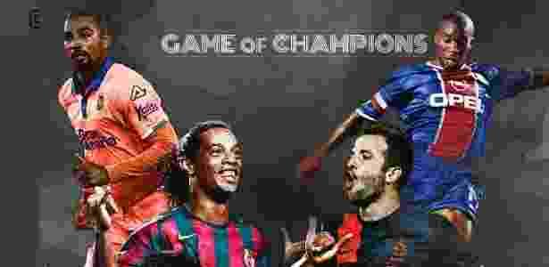 Ronaldinho Gaúcho tem amistoso marcado na Alemanha em 17 de novembro - Reprodução Instagram - Reprodução Instagram