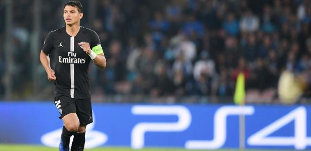 Desde que chegou ao PSG, Thiago Silva atuou em 256 jogos e marcou 16 gols - Francesco Pecoraro /Getty Images