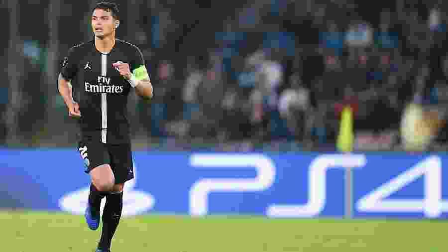 Desde que chegou ao PSG, Thiago Silva atuou em 281 jogos - Francesco Pecoraro /Getty Images