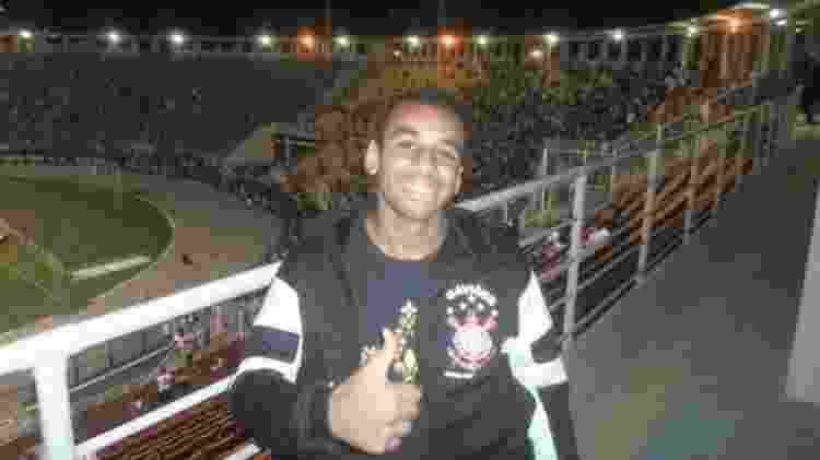 Alan Pereira Corinthians - Acervo pessoal - Acervo pessoal