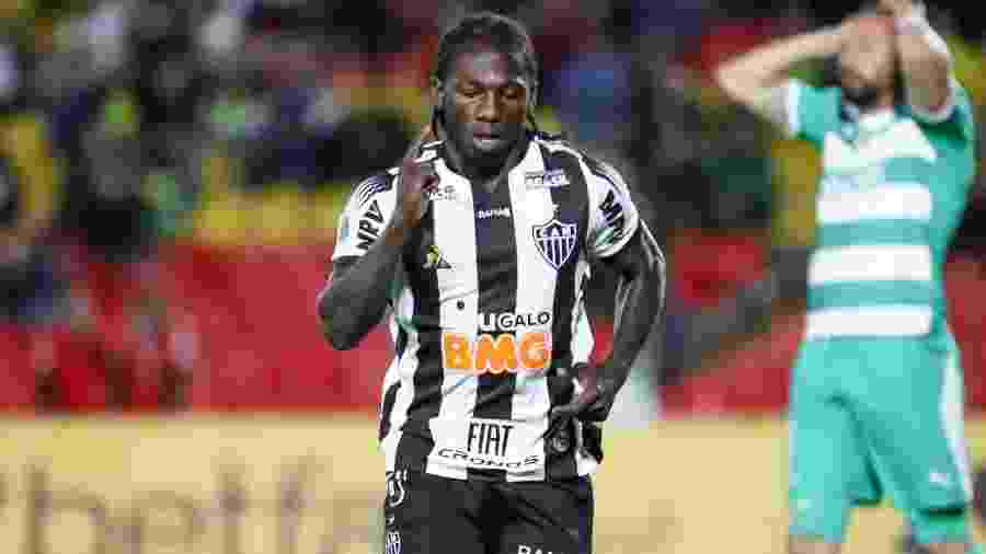 Yimmi Chará participou apenas de um gol após a paralisação para a Copa América 2019 - Bruno Cantini/Divulgação/Atlético-MG