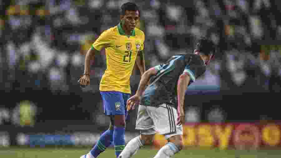Rodrygo teve mais tempo em campo contra a Argentina do que contra a Coreia do Sul - Pedro Martins / MoWA Press